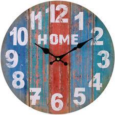 Reloj De Pared estilo Vintage Shabby Chic De Cocina De Casa-totalmente Nuevo