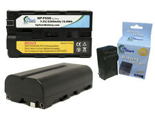 2x NP-F550 Battery + Charger for CN-160, CN-126, YN-160, LED-312AS, LED-312A
