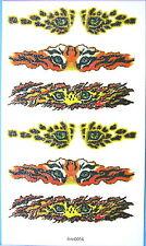 Tiger Eyes Glitter Temporary Tattoos #hm0014