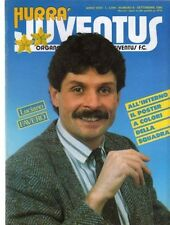 RIVISTA=HURRA' JUVENTUS=N°9 1986=LAUDRUP=MANFREDONIA=VIGNOLA=FRANCO CAUSIO