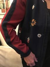 514a5d92b1 New listingS.Oliver jacket Dark blue with floral design