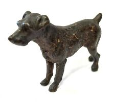 Antique Austrian Cold Painted Bronze Dog Terrier In The Style Of Bergman