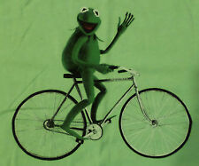 Kermit The Frog Muppets Bicycle T Shirt Green XXL 2X NEW