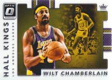 2017-18 Donruss Optic Hall Kings #4 Wilt Chamberlain Los Angeles Lakers