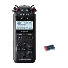 Tascam DR-05X Handheld Recorder w/2 Free Universal Electronics AA Batteries New