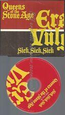 PROMO CD--QUEENS OF THE STONE AGE-- SICK SICK SICK --1TR
