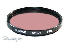 52mm Sunpak F-DL (FLD) Lens Filter
