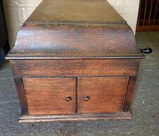 Vintage HMV Wooden Gramophone, Model Number 109