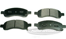 Disc Brake Pad Set-Ceramic Pads Front Autopartsource CE1169