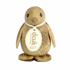 Natural Wooden Baby Emperor Penguin Hand Carved by Dcuk