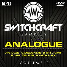 VOL ANALOGIQUE 1-24 BIT WAV STUDIO / ÉCHANTILLONS DE PRODUCTION DE MUSIQUE - DVD