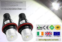 BMW E39 E87 E60 E63 E64 E65 E66 E53 Xenon White Angel Eyes Bulbs LED Halo Rings