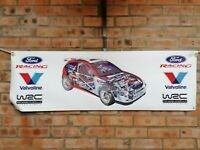 ford focus rs mk1 wrc large pvc banner  garage  work shop   classic show