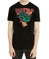 Buffalo David Bitton Mens T-Shirts Black Size M Logo Print Graphic Tee 220