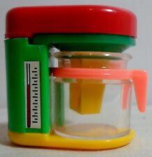 STATIONERY VTG 80's COFEE MACHINE PLASTIC PENCIL SHARPENER UNUSED M