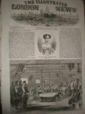 Christmas Dinner Crimea Captain Brown Company 57th Regiment 1856 print ref AT