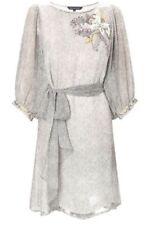 Silk Beaded Floral Dresses for Women