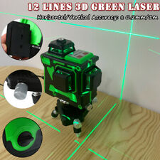 12 Lines 3D Green Laser Level Self-Leveling 360 Degre Horizontal And Vertical