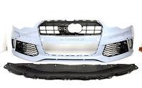 Für Audi A6 4G 14-18 RS6 -Look Frontstoßstange Grill Sportauspuff Scheinwerfer
