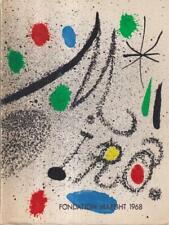 MIRO' PRIMA EDIZIONE DUPIN JACQUES FONDATION MAEGHT 1968