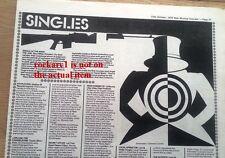 JAM Eton Rifles single review 1979 UK ARTICLE / clipping