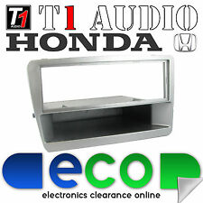 T1 Audio Honda Civic 2000-2005 Silver Stereo Fascia Facia Replacement Panel