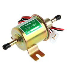 12V Electric Positive Earth Fuel Pump Facet Cylinder Style Car Van Universal 1PC