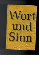 Wort und Sinn - Lesebuch für den Deutschunterricht Band 3 - 1964