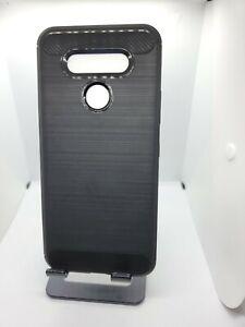 LG K51 TPU Gel Silicone TPU Matte Black Shockproof Case