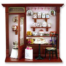 Reutter Porzellan Cafe Wandbild / Cafe Shop Display Puppenstube 1:12 Art 1.794/1