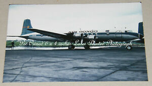 Air Congo Douglas DC-6 OO-GER, Brussels, May 1968, Aviation Aircraft Photograph
