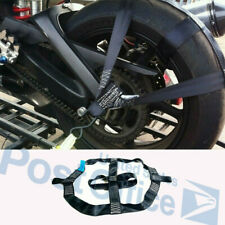 Hot Selling ! Motorcycle Rear Wheel Handlebar Transport Bar Tie Down Strap Black