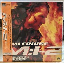 Mission Impossible 2 Laserdisc M:i-2 - Brand New Sealed PILF-2865