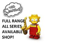 Lego minifigures lisa simpson the simpsons series 1 (71005) new factory sealed