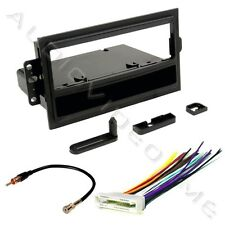 Car Radio Stereo Installation Dash Kit Mounting Bezel Trim + Wiring Harness
