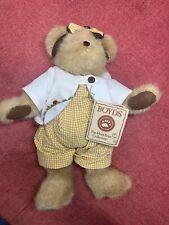 "New ListingBoyds Bears ""Meadow Bearybloom"" #904501 - 12"" Plush Bear -Nwt-2006 -Retired"