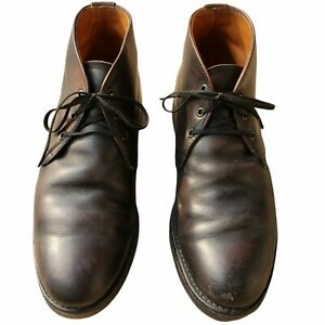 Red Wing Chukka Heritage 595 Union Work Boots Sz 10 C Made in USA