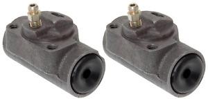2 Drum Brake Wheel Cylinders Set Pack Element3 Rear RAYBESTOS WC37024 OEM