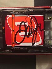 Autographed Dale Earnhardt Jr. #8 Raced Win 2001 Monte Carlo Action Elite 1/24