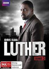 LUTHER : Series 3 starring Idris Elba (BBC DVD, 2013, 2-Disc Set) - BRAND NEW!!!