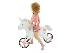 Laufrad Kind EINHORN -Style, Fahrrad, Alu, Plüschpferd Schaukelpferd Unicorn