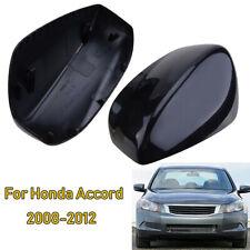 L+R Side Rear View Mirror Cover Trim Cap Kit For Honda Accord 2008-2012