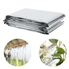 Plant Reflective Film Grow Light Greenhouse Garden Patio Covering Foil Sheet