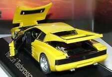 herpa-Modellauto in Minivitrine, M 1:43, Ferrari Testarossa gelb