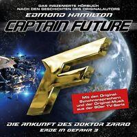 EDMOND HAMILTON - CAPTAIN FUTURE: ERDE IN GEFAHR-FOLGE 03   CD NEU
