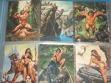 JOE JUSKO'S 'EDGAR RICE BURROUGHS COLL.' Complete Base Set  Trading Cards TARZAN