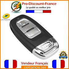 Clé Smart Key Contact Audi A4 A5 A8 S4 S5 S6 Q5 RS5 Télécommande 3 Boutons