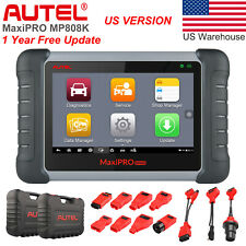 Autel MP808K MK808BT Auto Diagnostic Tool All System OBD2 Scanner ABS IMMO Key