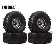 "4PC 2.2"" Tire Beadlock Wheel for 1/10 RC Crawler Axial Wraith Yeti RR10 TRX4 UDR"
