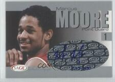 2004-05 Sage Basketball Authentic Silver /330 Marcus Moore #A20 Auto